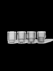Bilde av Ripple Small Glasses smoked grey (Set of 4)