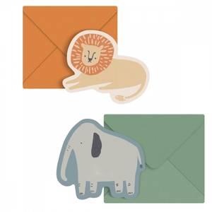 Bilde av Kort med konvolutt 2 stk, Wildlife