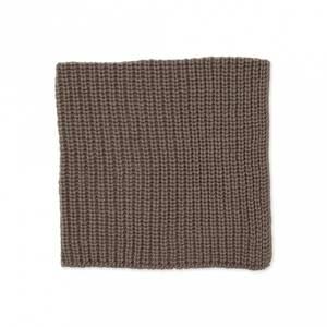 Bilde av Sille strikket klut 2pk, lys brun