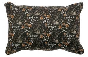 Bilde av Vogue cushion 40x60 velvet aquarel flower black
